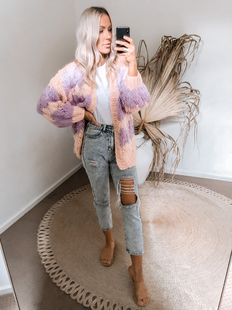 Morgan Cardigan - Lilac