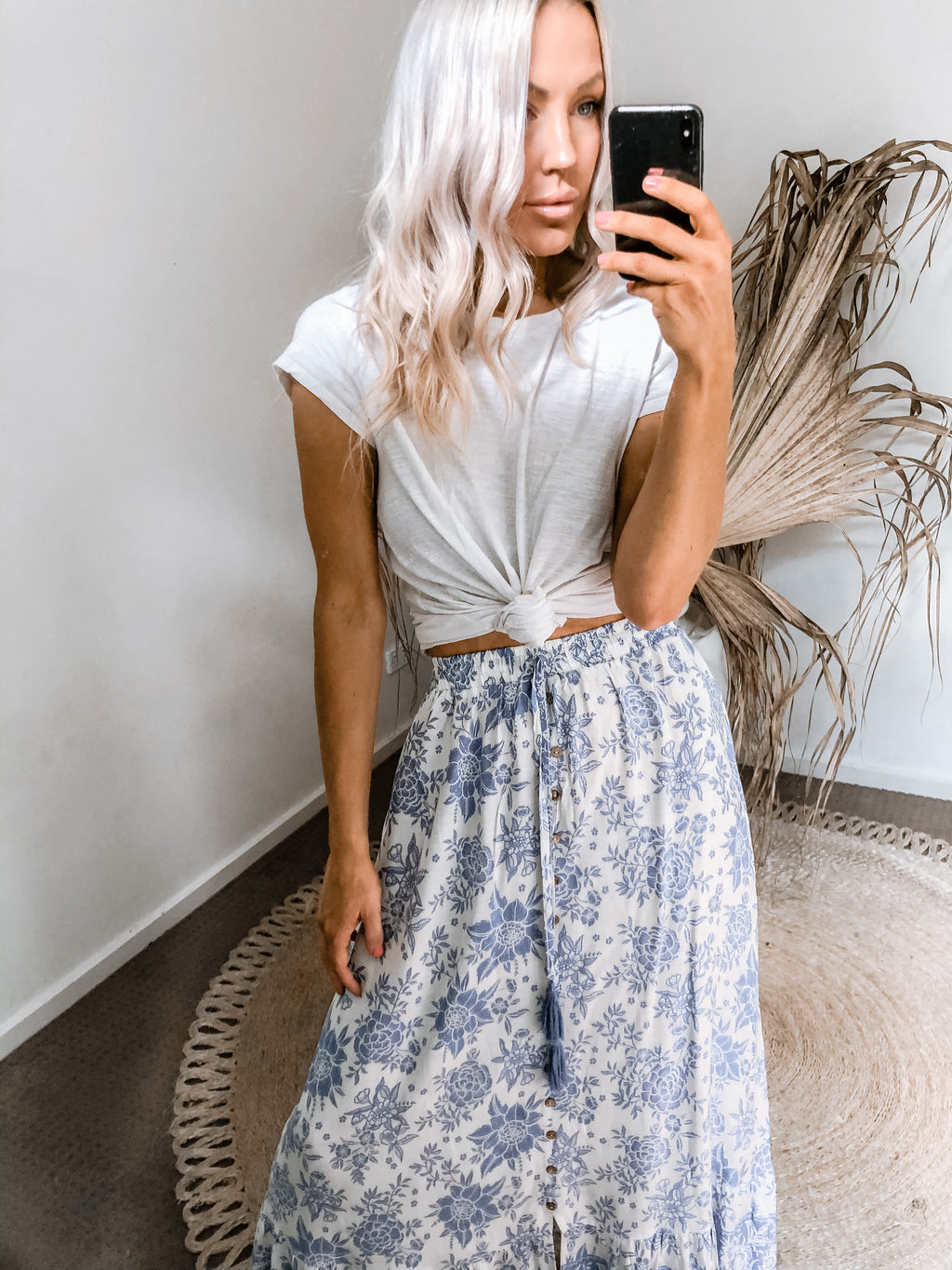 Summerfield Skirt - Blue