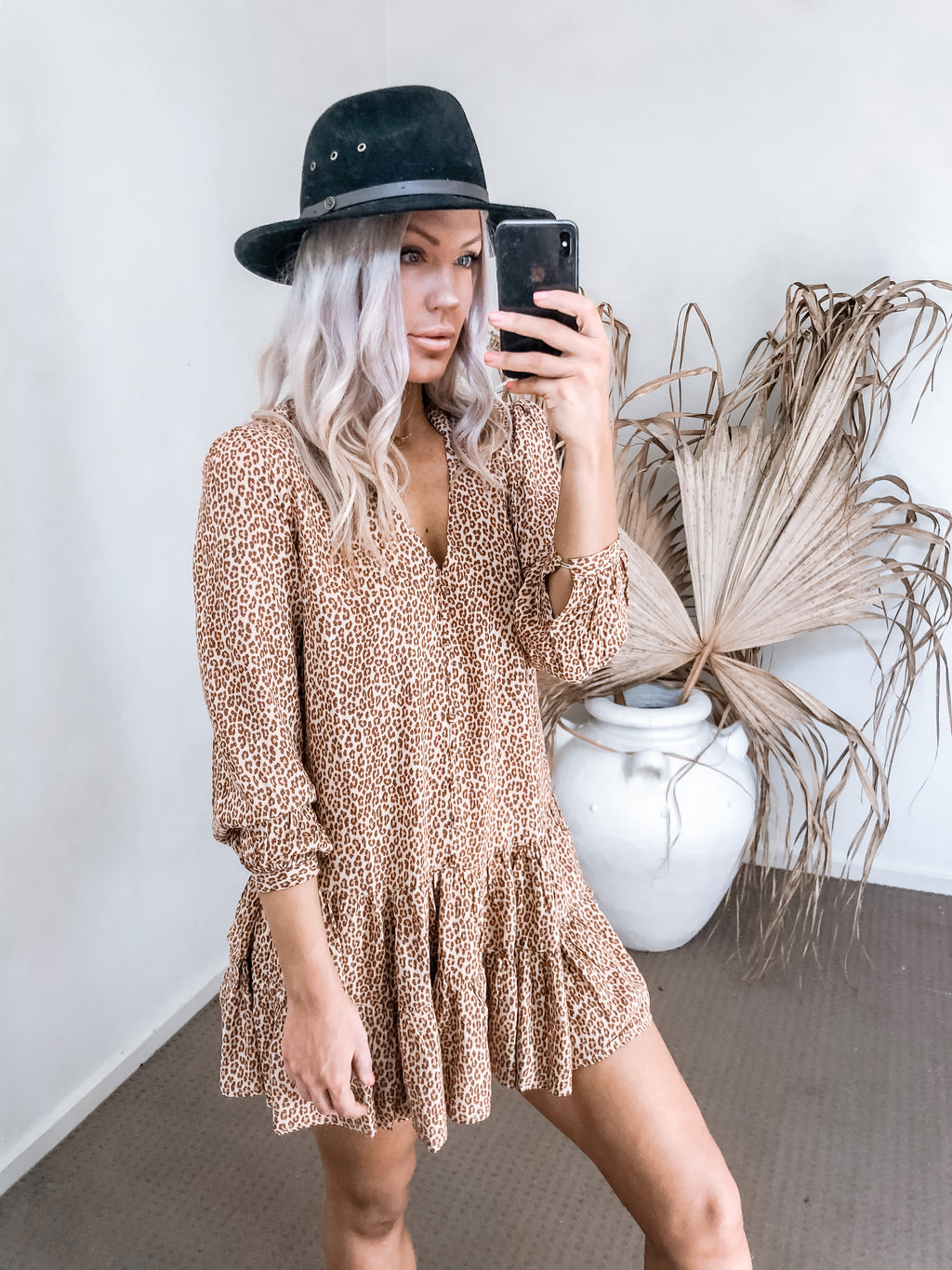 Cody Dress - Leopard