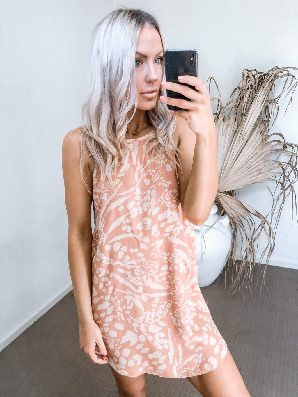 Paris Dress - Rust