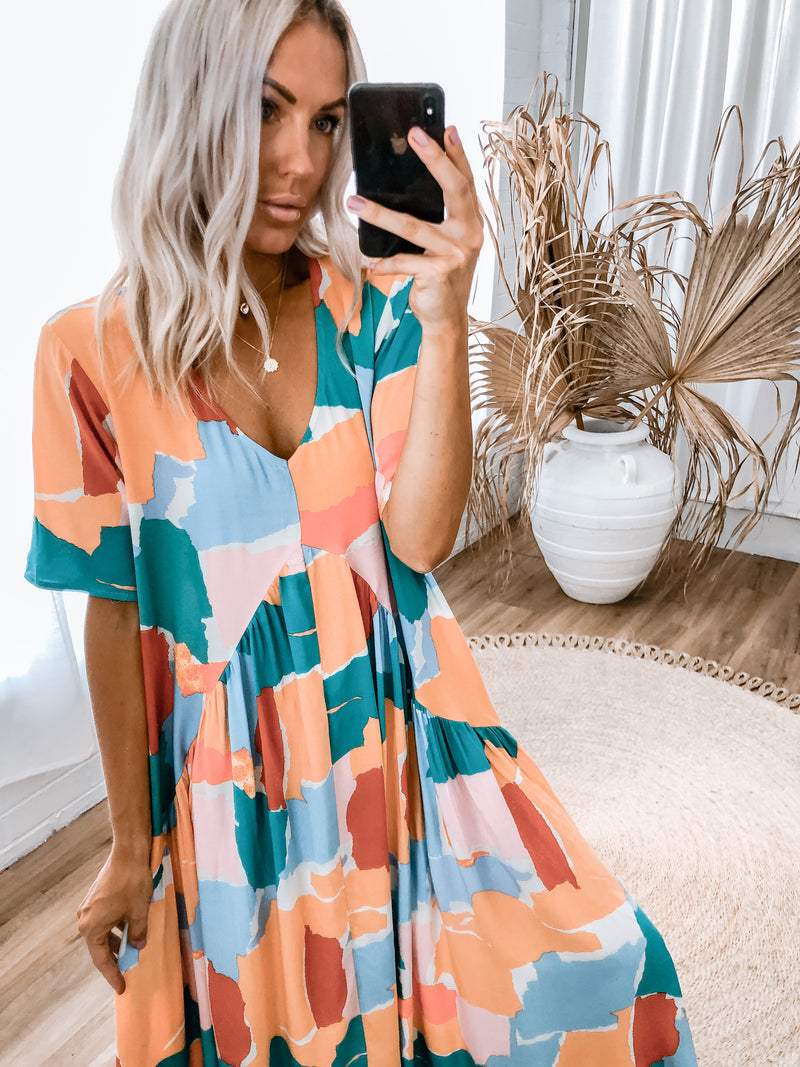 Sammy Dress - Multi