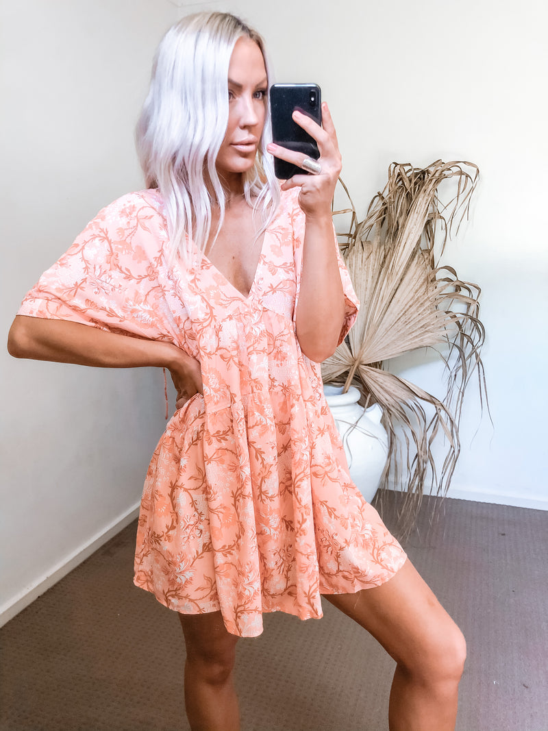 Kiray Dress - Orange