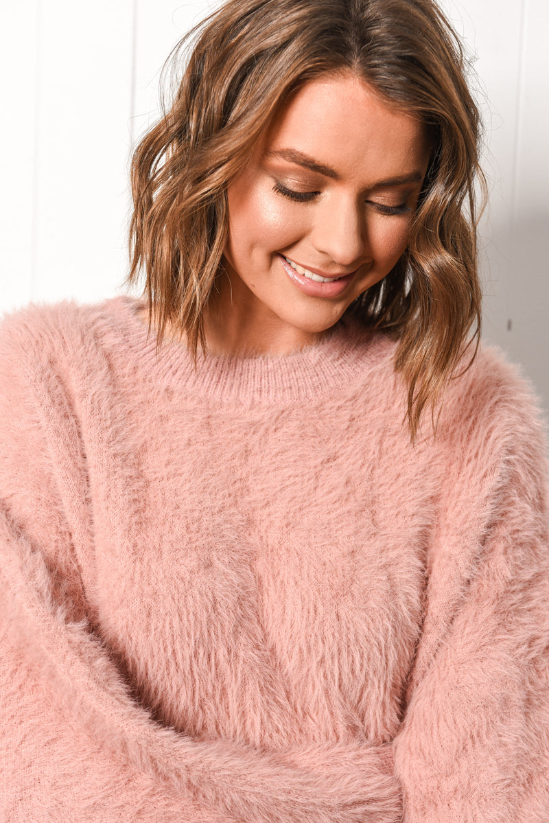 Annika Jumper - Blush