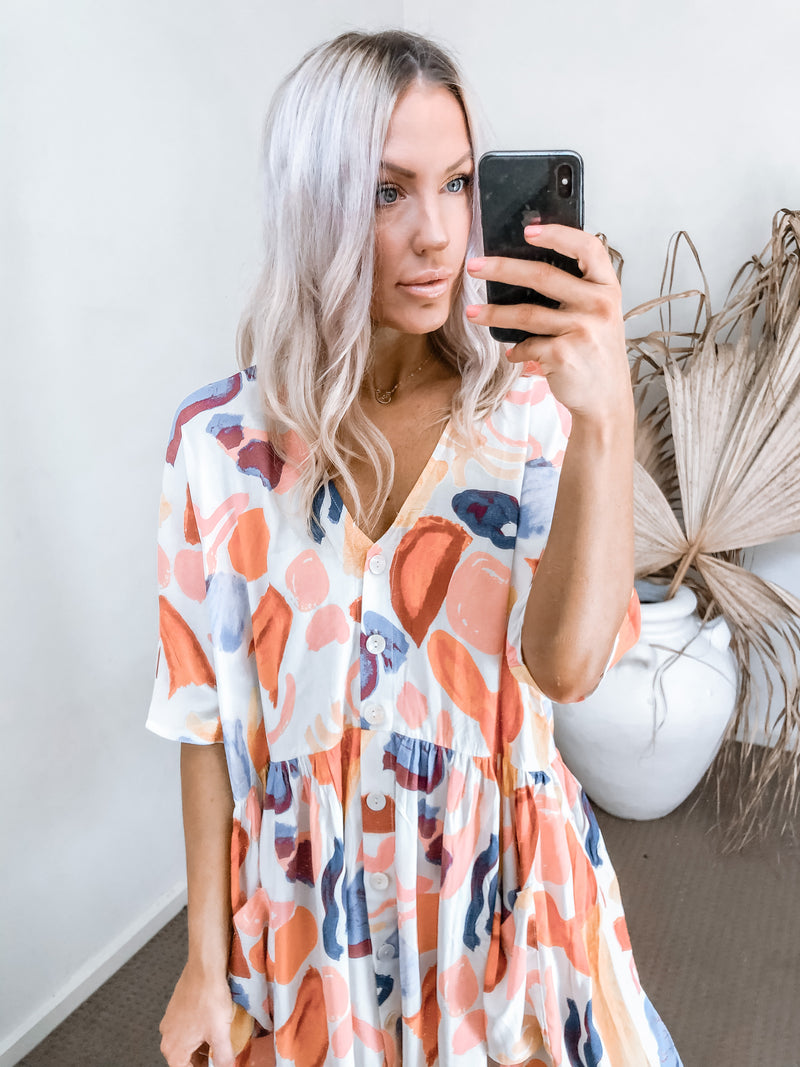 Kansie Dress - Multi