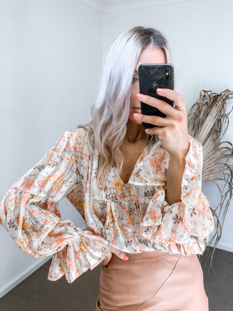 Siloh Top - Floral