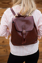 Vegan Leather Backpack I 2 Colors
