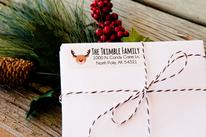 Christmas Address Labels | Set of 36