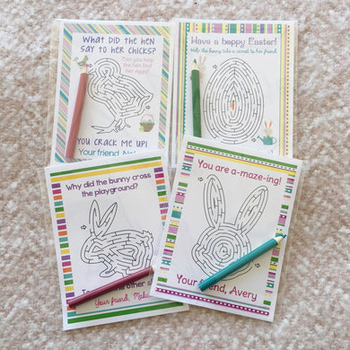 Easter Activity Cards | Set of 24