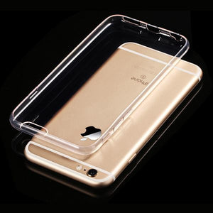 Clear Silicone Cover for iPhone 6 & iPhone 6 Plus