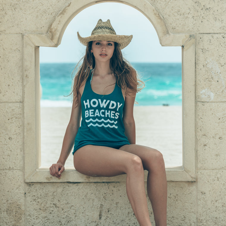 Howdy Beaches Tank Top