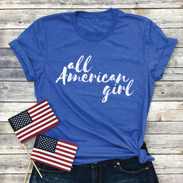 All American Girl Premium Unisex T-Shirt