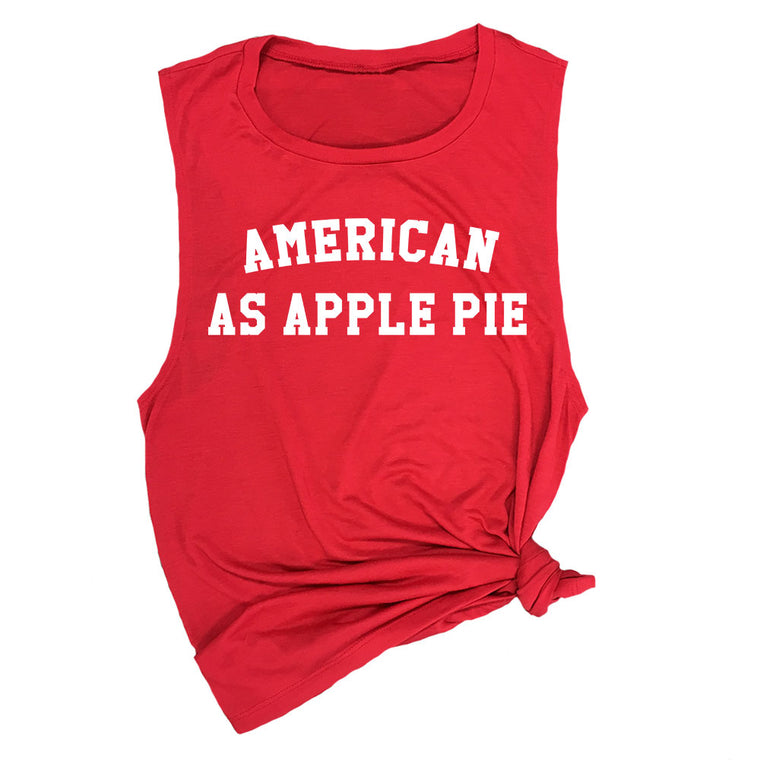 American As Apple Pie Muscle Tee