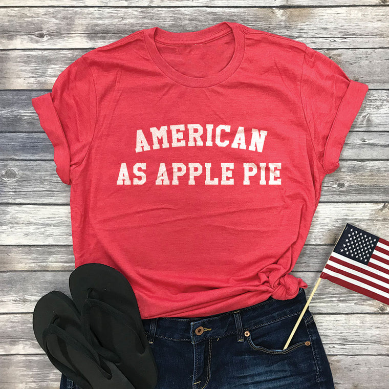 American As Apple Pie Basic Tee