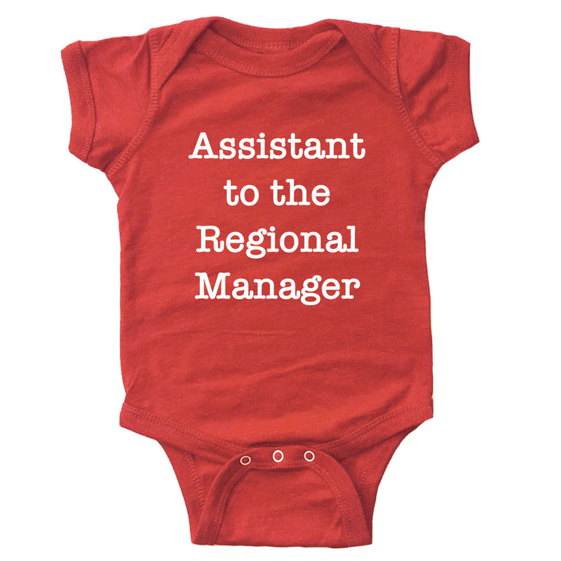 Assistant to the Regional Manager Infant Bodysuit
