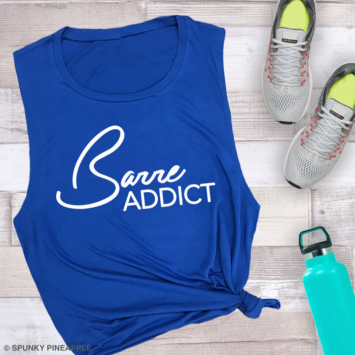 Barre Addict Muscle Tee