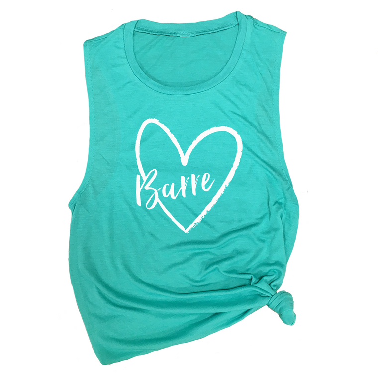 Barre Love Muscle Tee