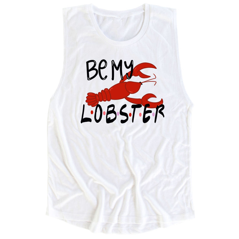 Be My Lobster Muscle Tee