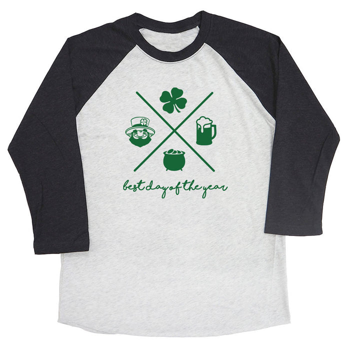 Best Day of the Year (St. Patrick's Day) Raglan Tee