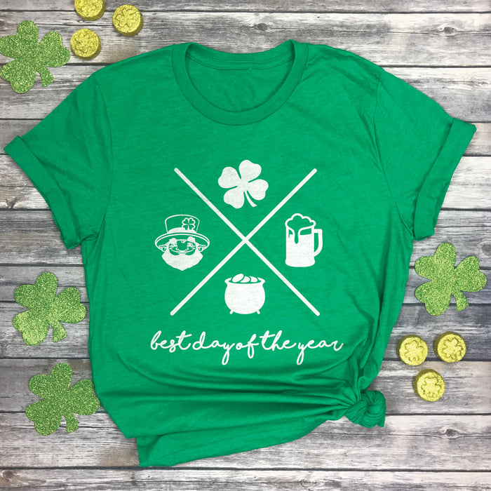 Best Day of the Year (St. Patrick's Day) Premium Unisex T-Shirt