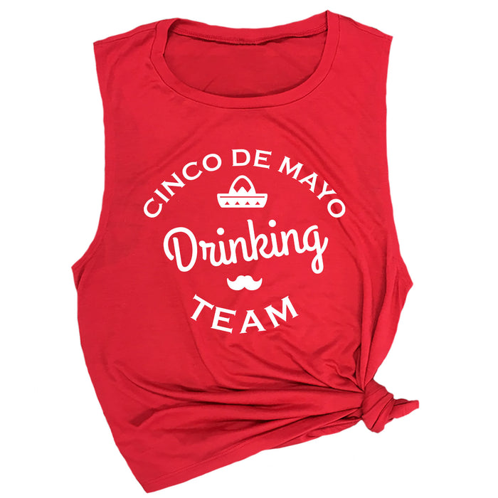 Cinco de Mayo Drinking Team Muscle Tee