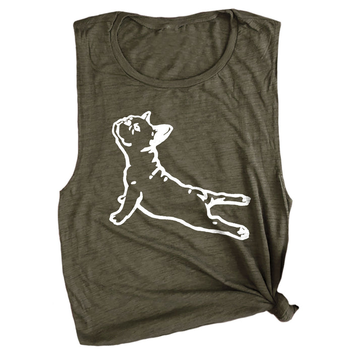 DOGA (Frenchie) Muscle Tee