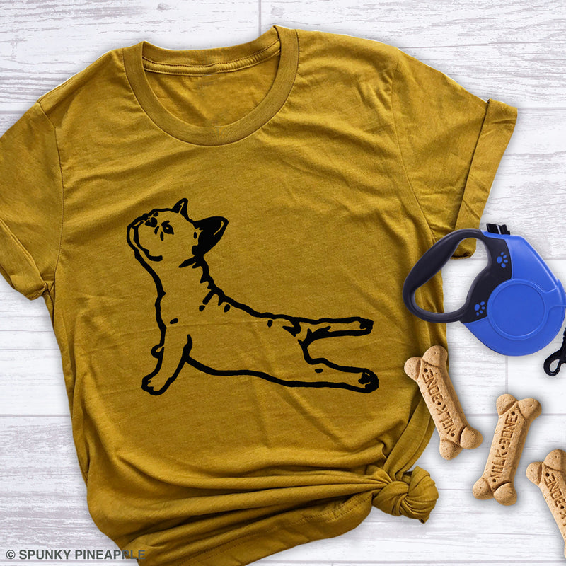 DOGA (Frenchie) Premium Unisex T-Shirt