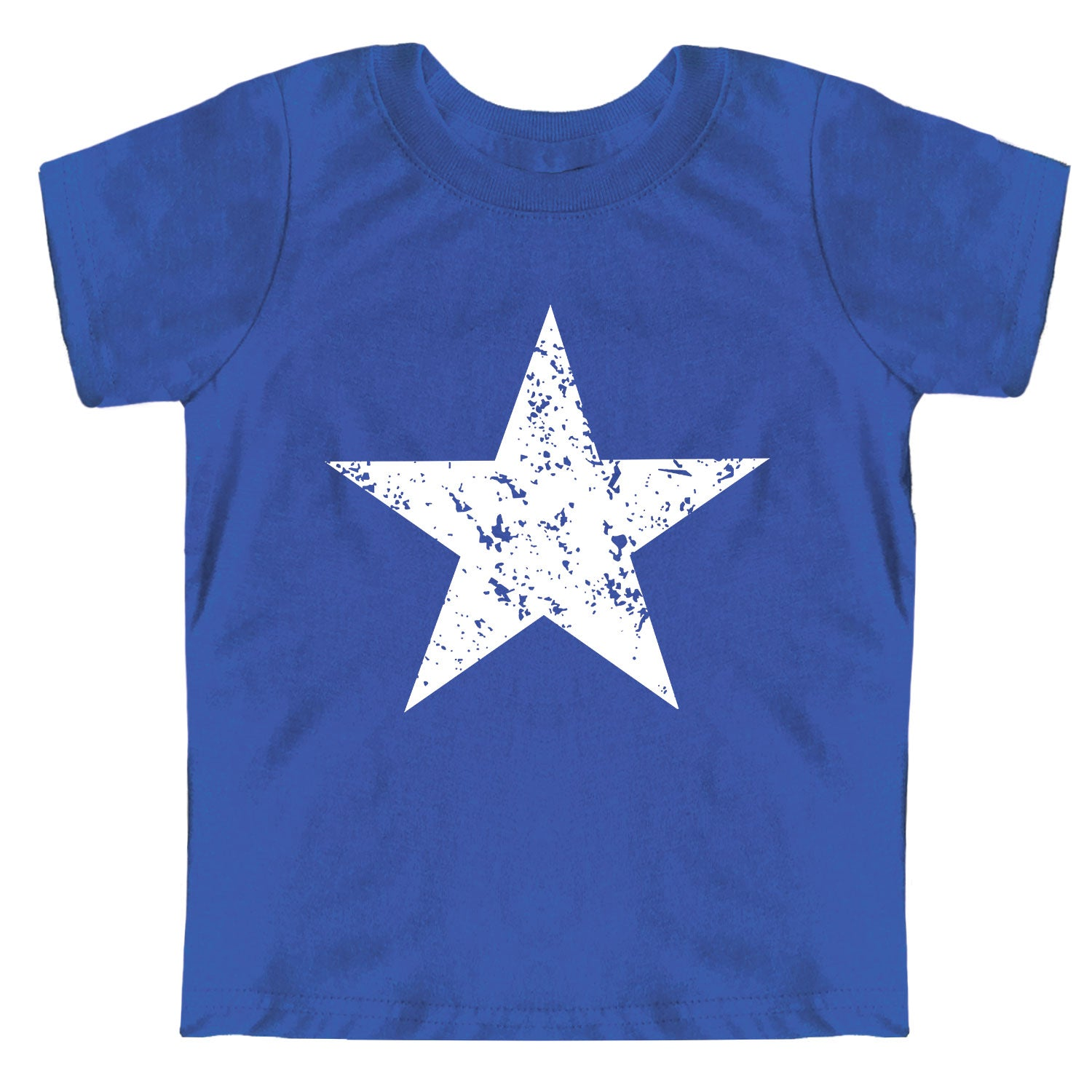 Distressed Star Toddler Jersey Tee