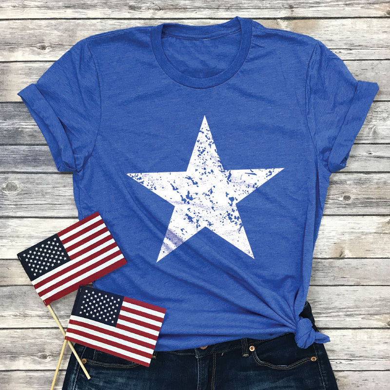 Distressed Star Premium Unisex T-Shirt
