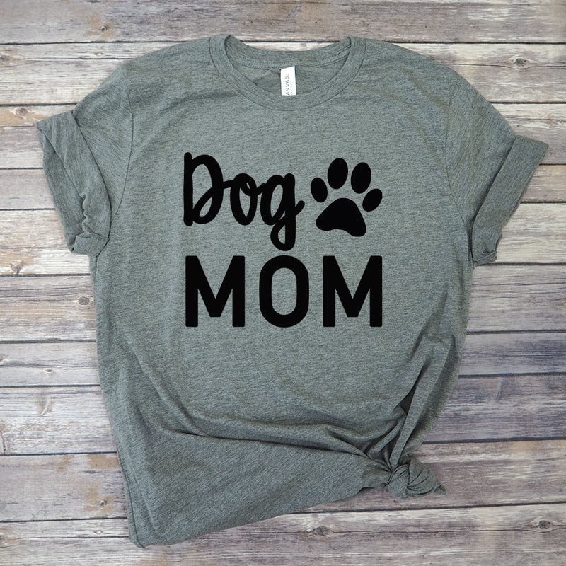Funny Dog Mom Graphic T-Shirt