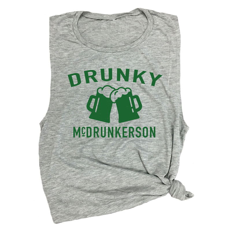 Drunky McDrunkerson Muscle Tee