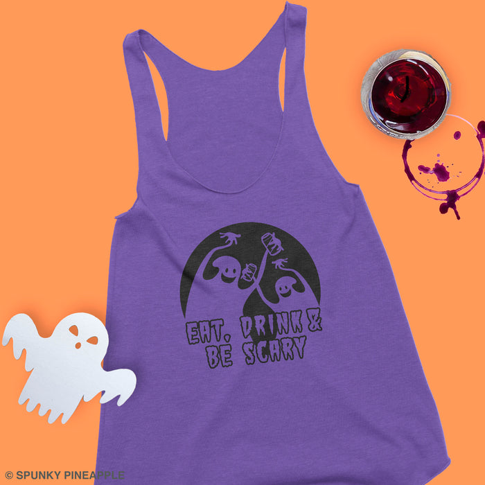 Eat, Drink & Be Scary Tank Top
