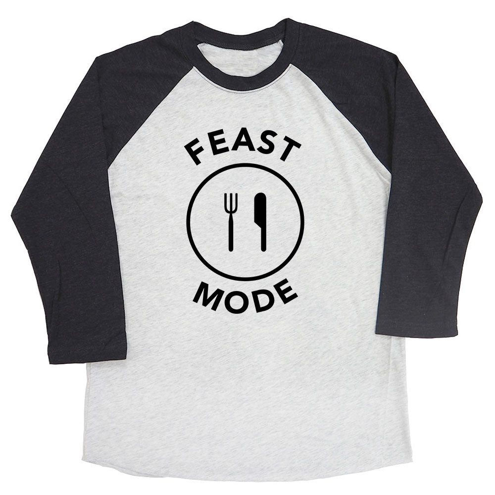 Feast Mode Raglan Tee
