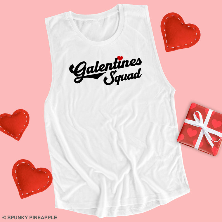 Galentines Squad Muscle Tee