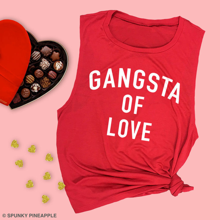 Gangsta of Love Muscle Tee