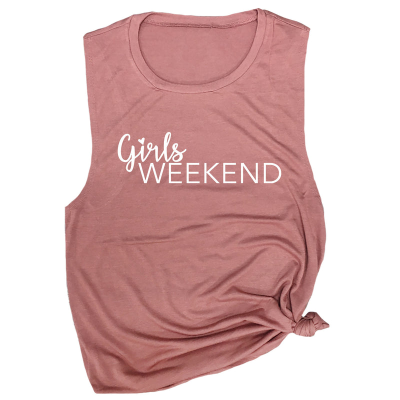 Girls Weekend Muscle Tee