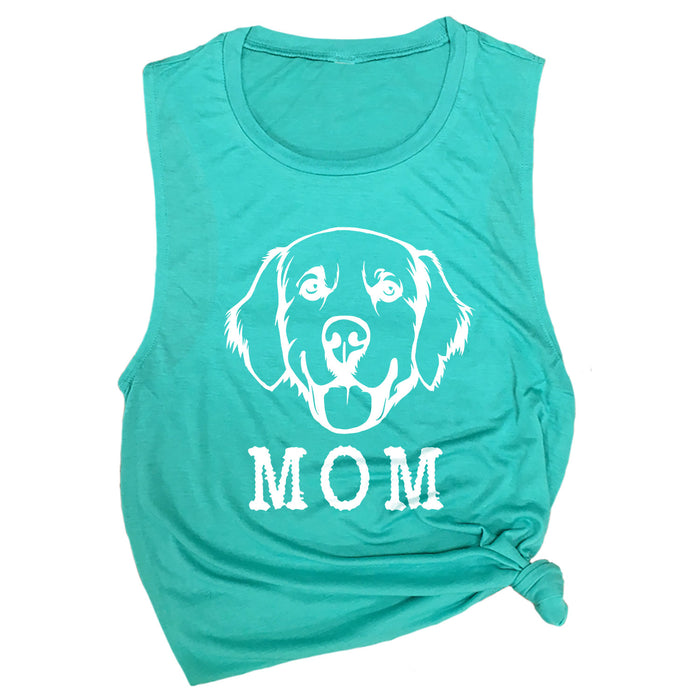 Golden Retriever Mom Muscle Tee
