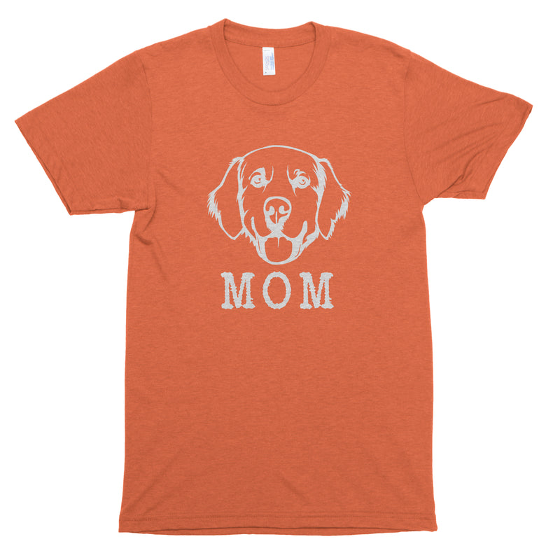 Golden Retriever Mom Premium Unisex T-Shirt