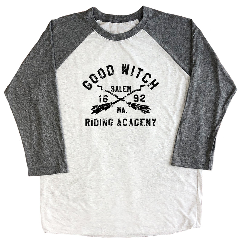 Good Witch Riding Academy Raglan Tee