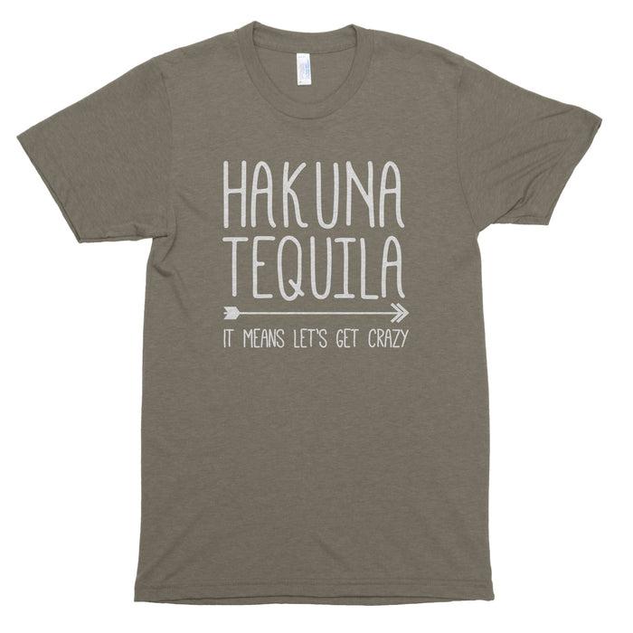 Hakuna Tequila It Means Let's Get Crazy Premium Unisex T-Shirt