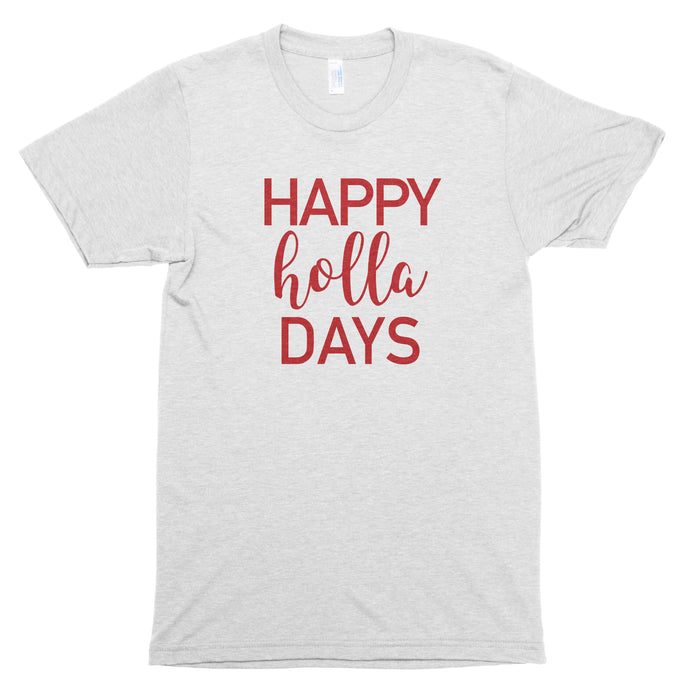 Happy Holla Days Basic Tee
