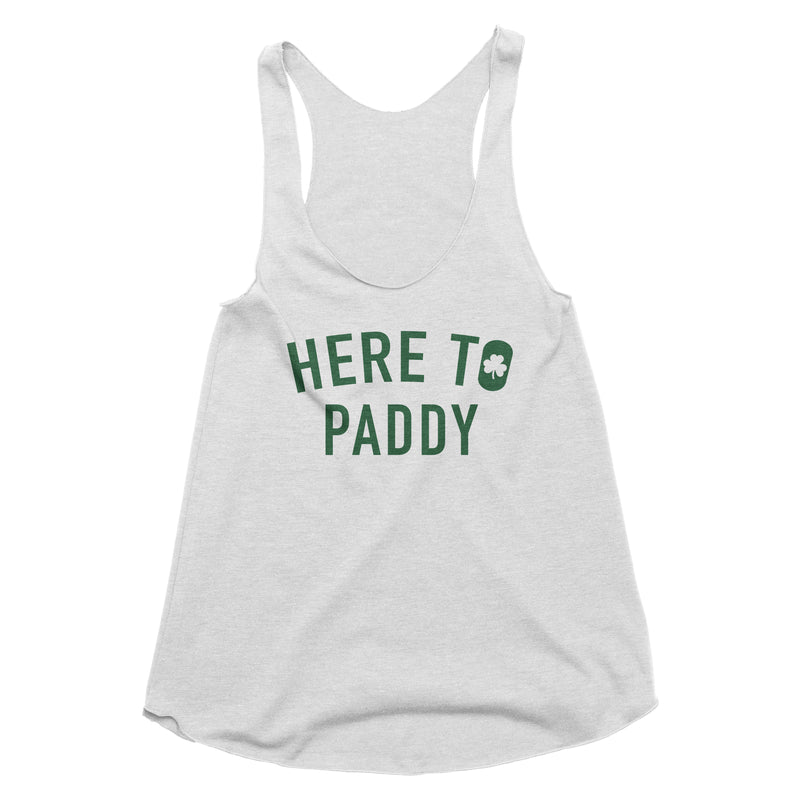 Here to Paddy Tank Top