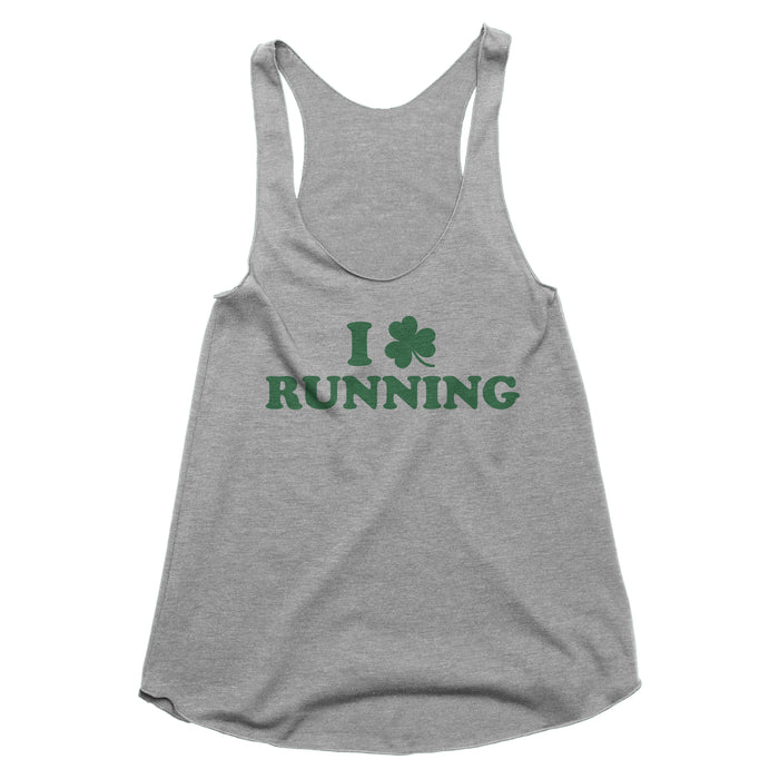 I Shamrock Running Tank Top