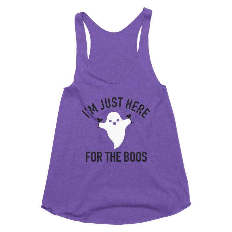 I'm Just Here for the Boos Tank Top