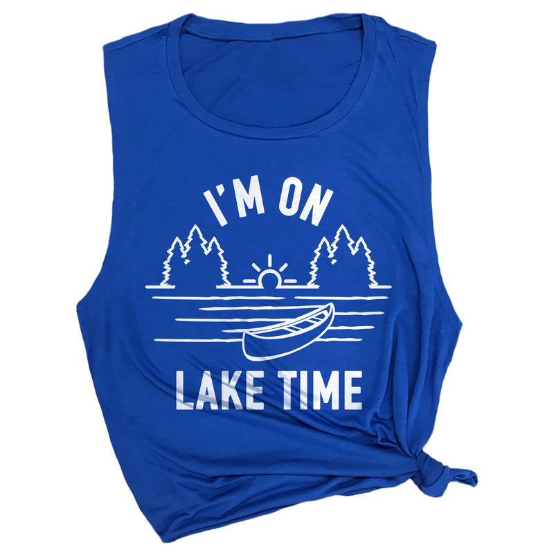 I'm on Lake Time Muscle Tee