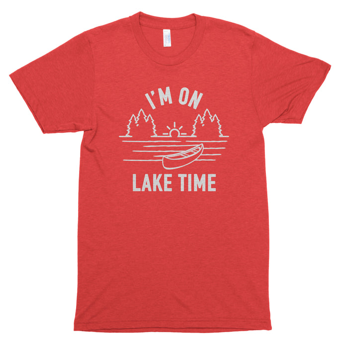 I'm on Lake Time Premium Unisex T-Shirt