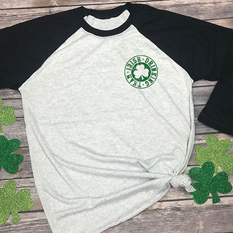 Irish Drinking Team Raglan Tee