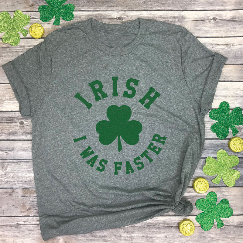 Irish I Was Faster Premium Unisex T-Shirt