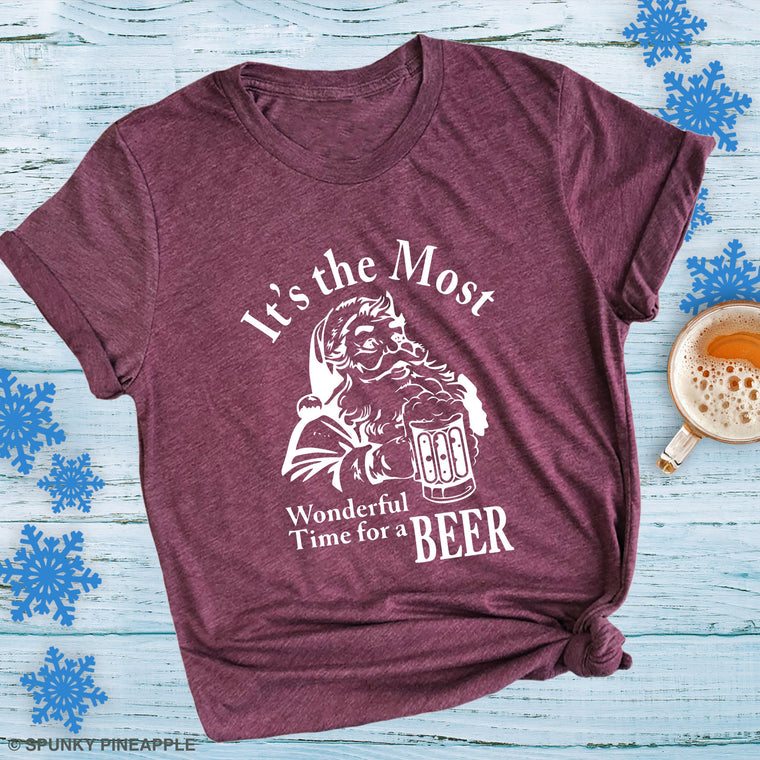 It's the Most Wonderful Time for Beer Premium Unisex T-Shirt
