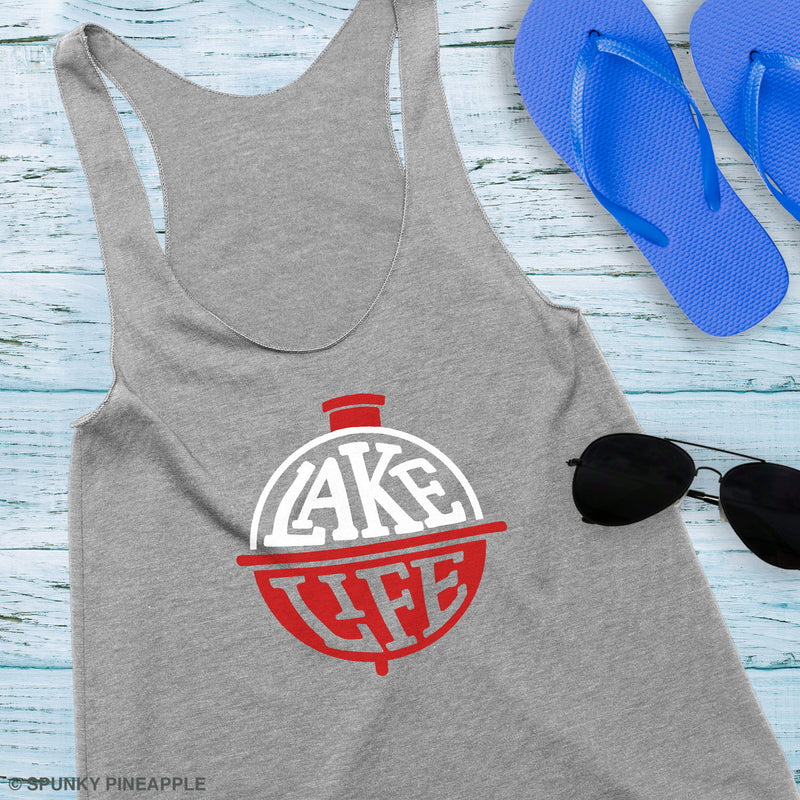 Lake Life (with Bobber) Tank Top