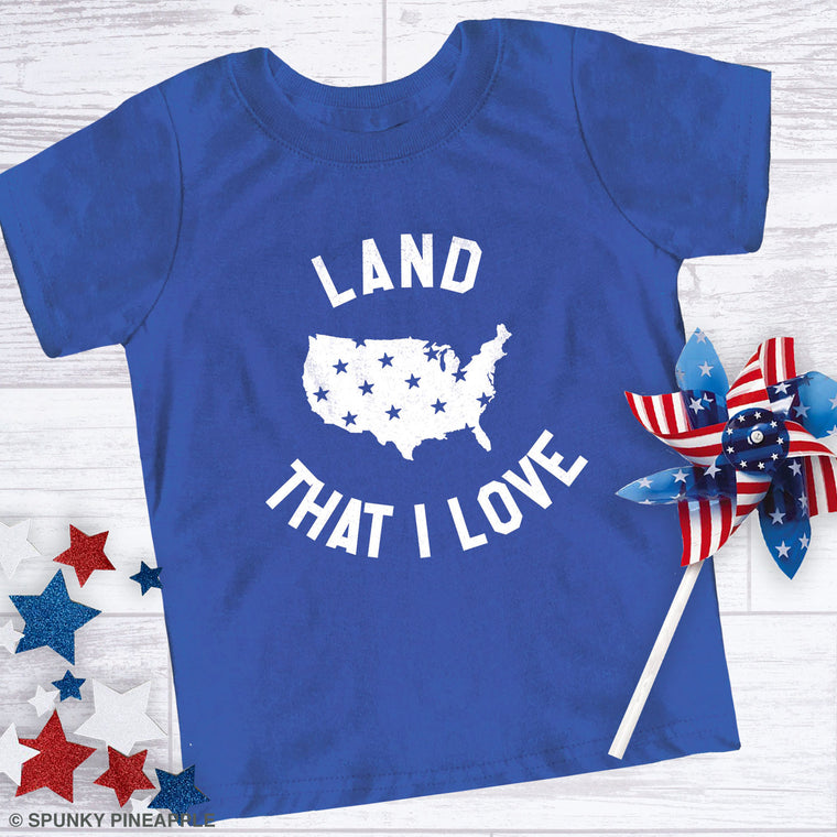 Land That I Love Toddler Jersey Tee